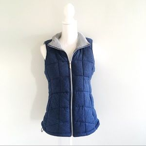 Marc New York Quilted Puffer Vest in Navy